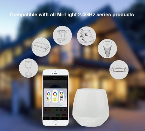 APP Iphone MiLight smart LED lights