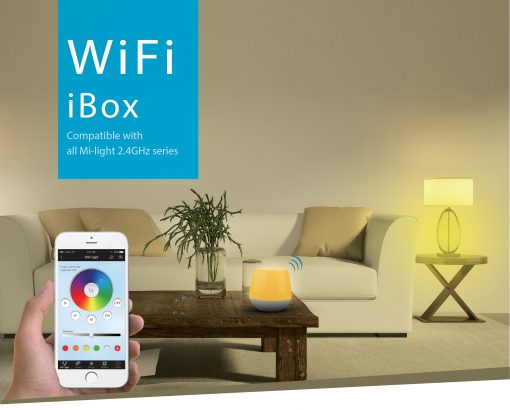 Smart LED lamp Milight RGB-CCT wife box