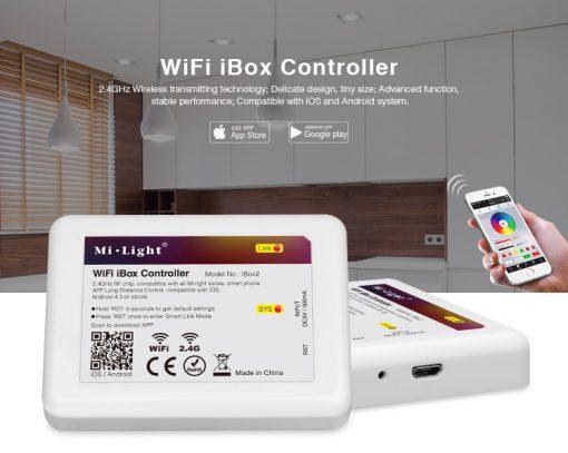 Smart LED lamp Milight RGB-CCT wife box