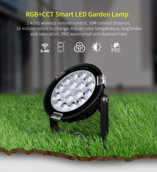 Smart LED lamp Milight RGB-CCT Garden light