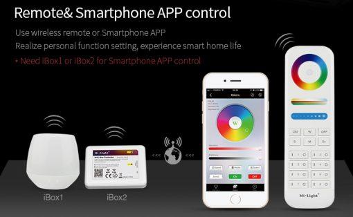 Smart LED lamp Milight RGB-CCT Smart Phone wifi